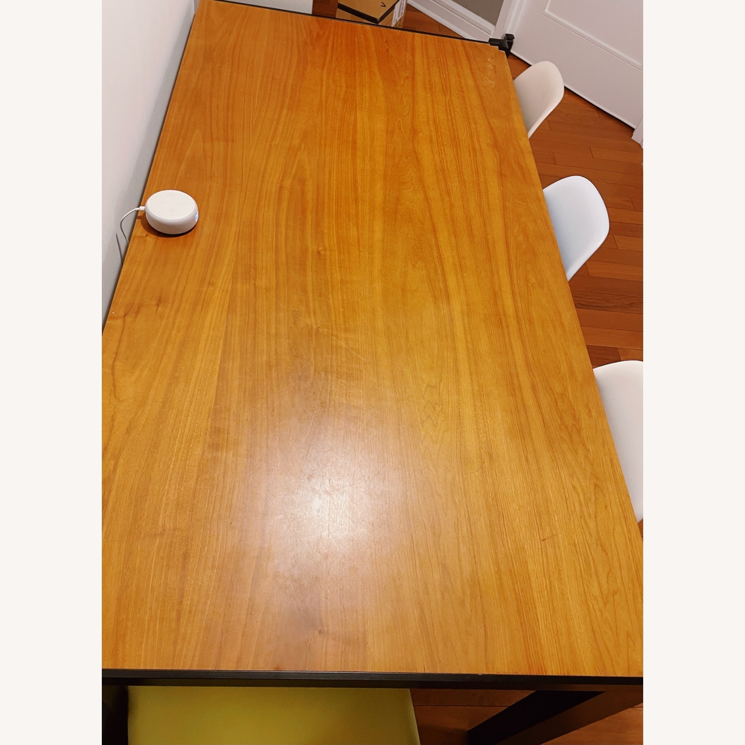 Design Within Reach Deneb Table with Natural Walnut Tabletop - image-3