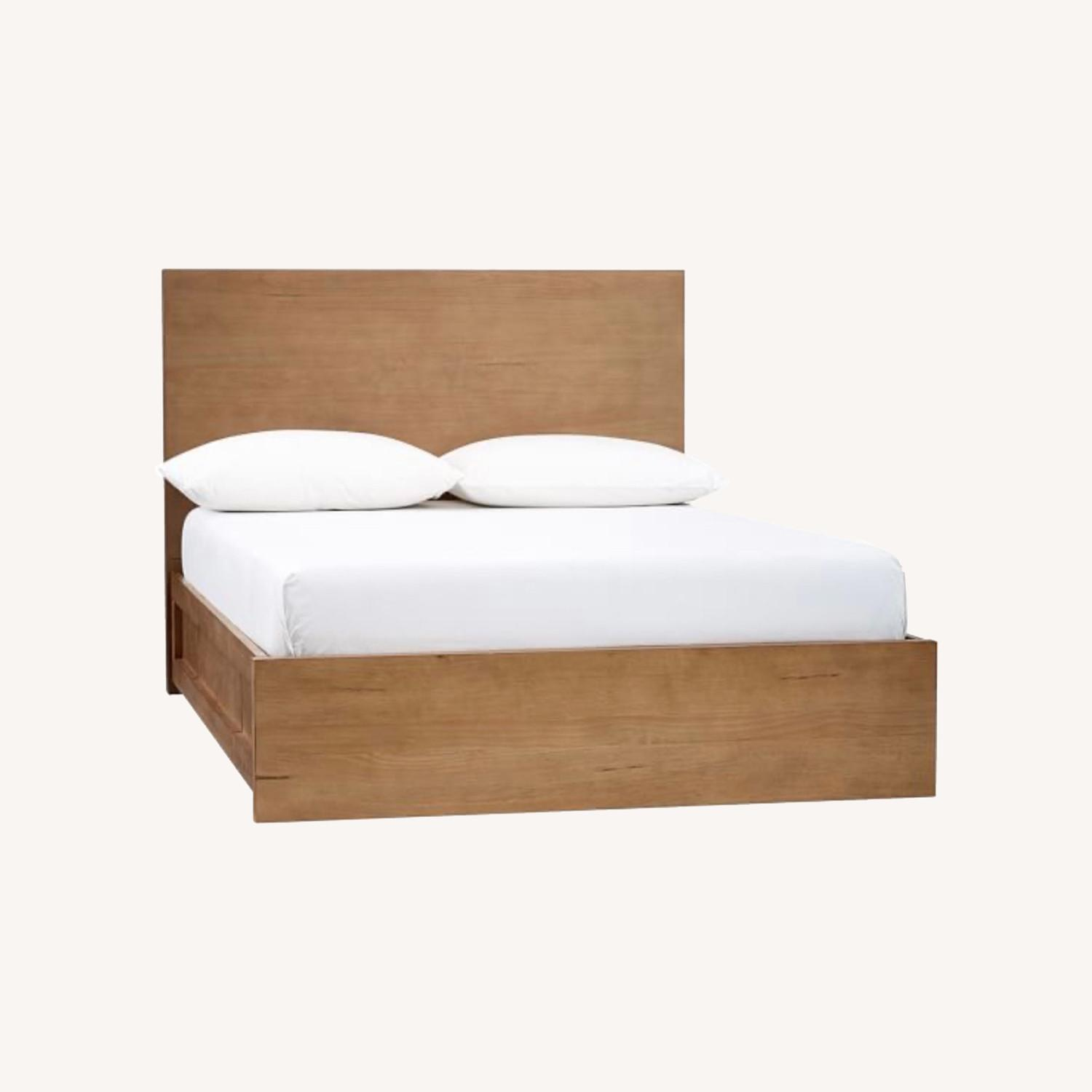 Pottery Barn Full Size Dover Storage Bed - image-0