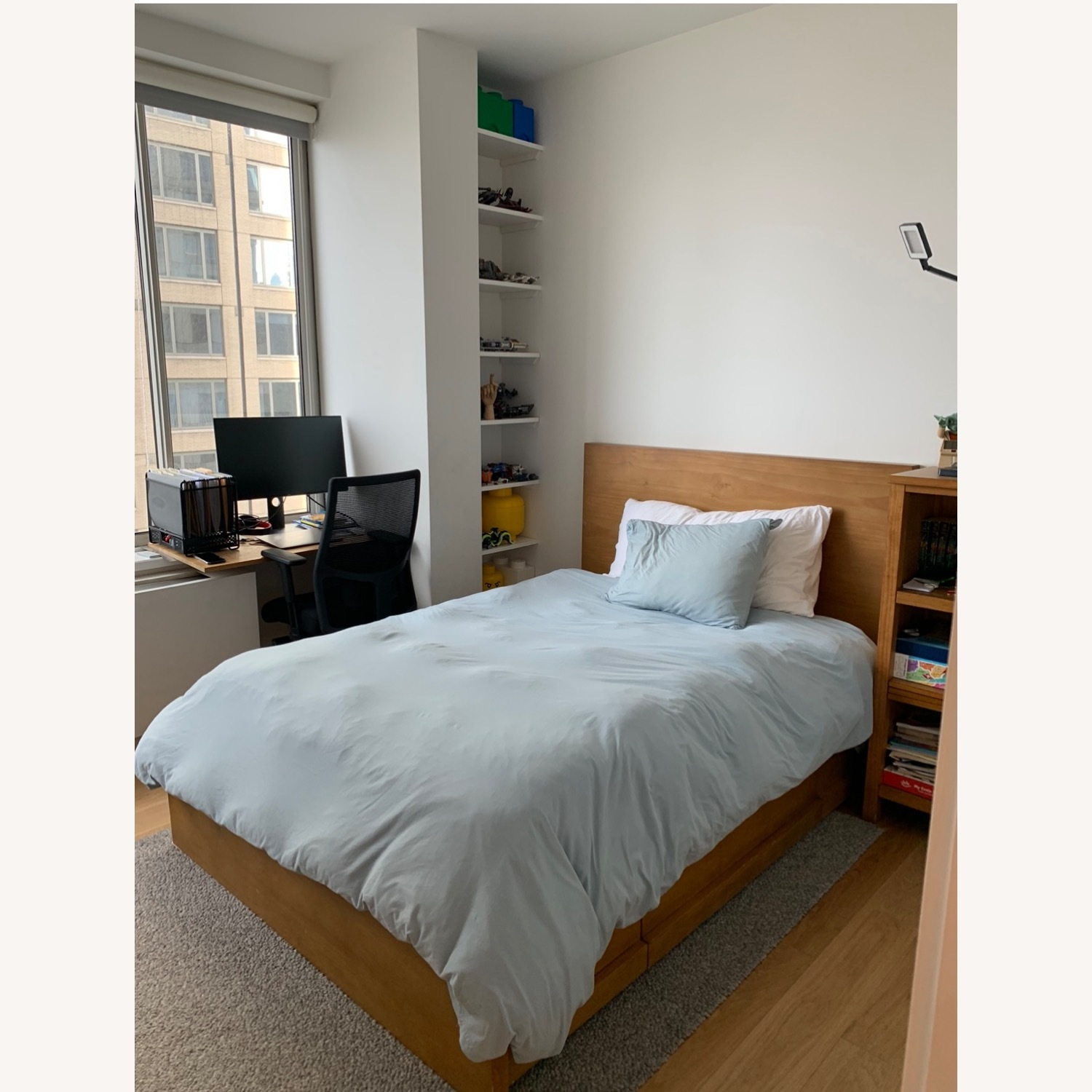 Pottery Barn Full Size Dover Storage Bed - image-6