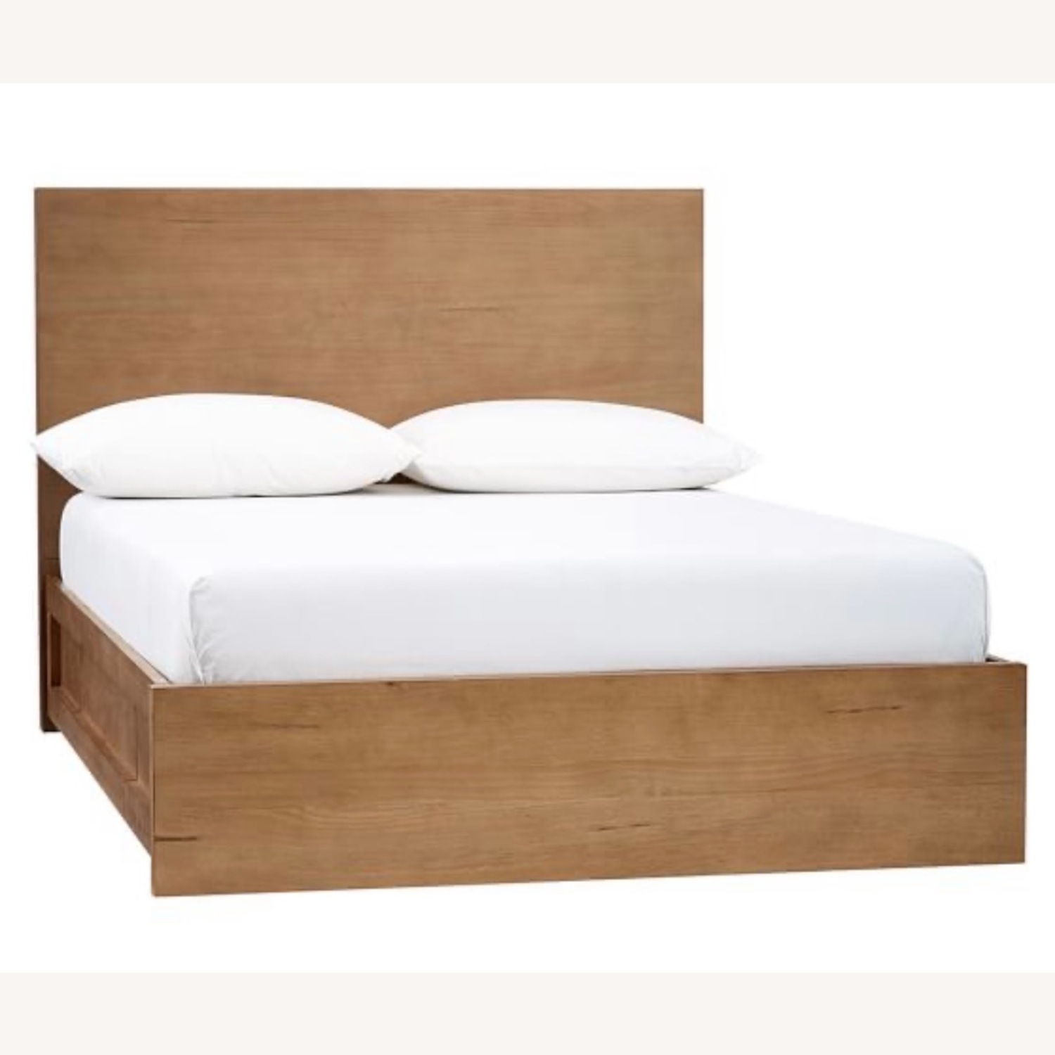 Pottery Barn Full Size Dover Storage Bed - image-2