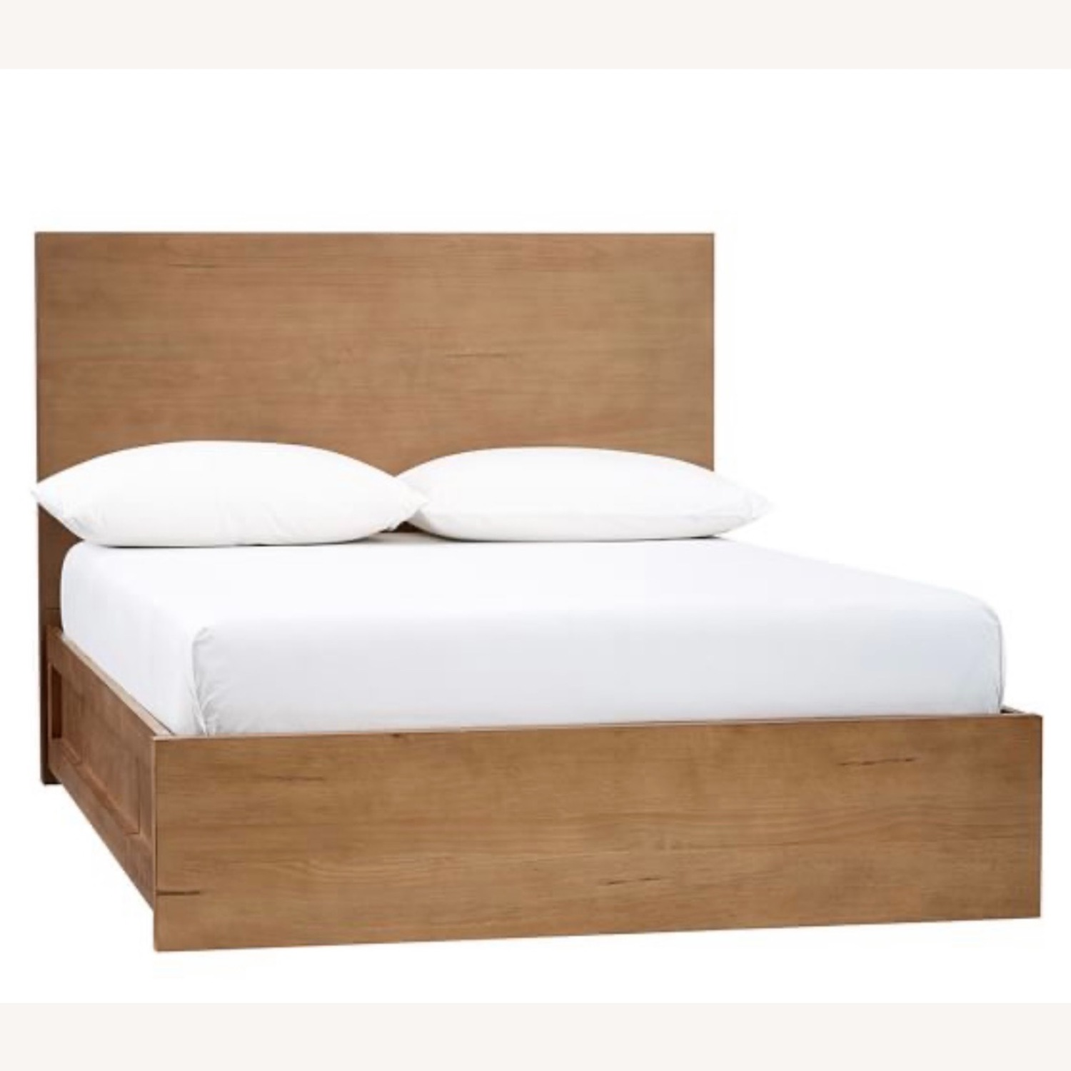 Pottery Barn Full Size Dover Storage Bed - image-1