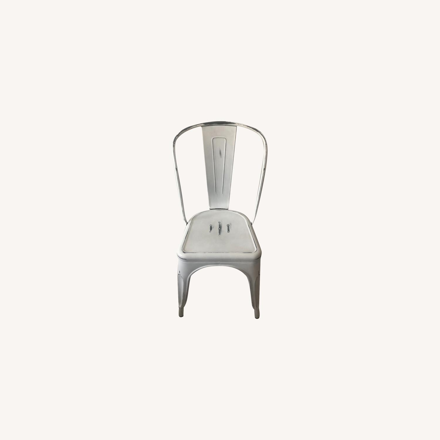 Industry West Marais A Side Chair Antique White - image-0