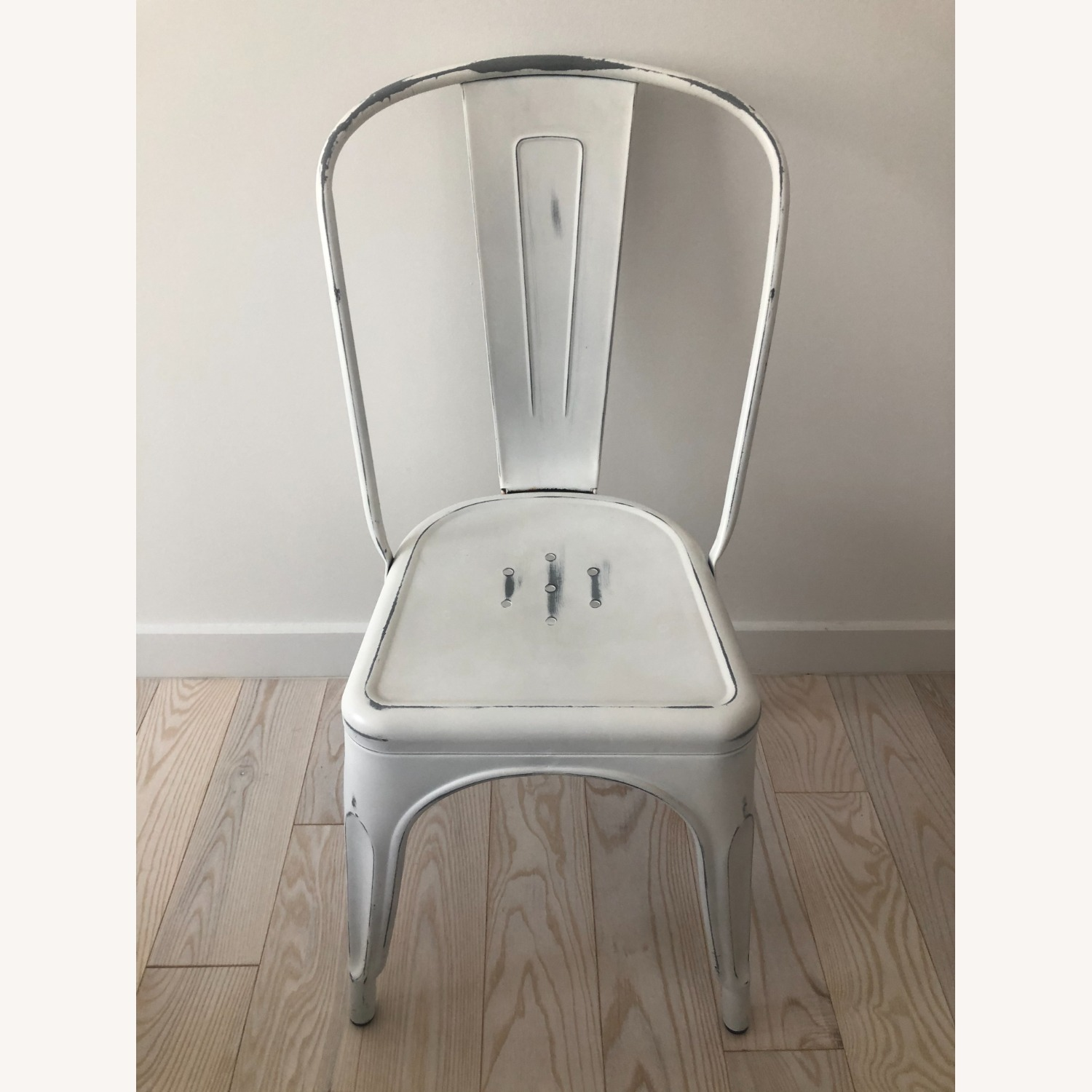 Industry West Marais A Side Chair Antique White - image-1