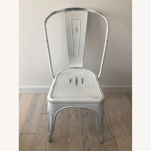 Used Industry West Marais A Side Chair Antique White for sale on AptDeco