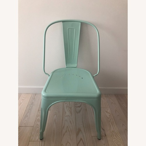 Used Industry West Marais AC Chair Peppermint Color for sale on AptDeco