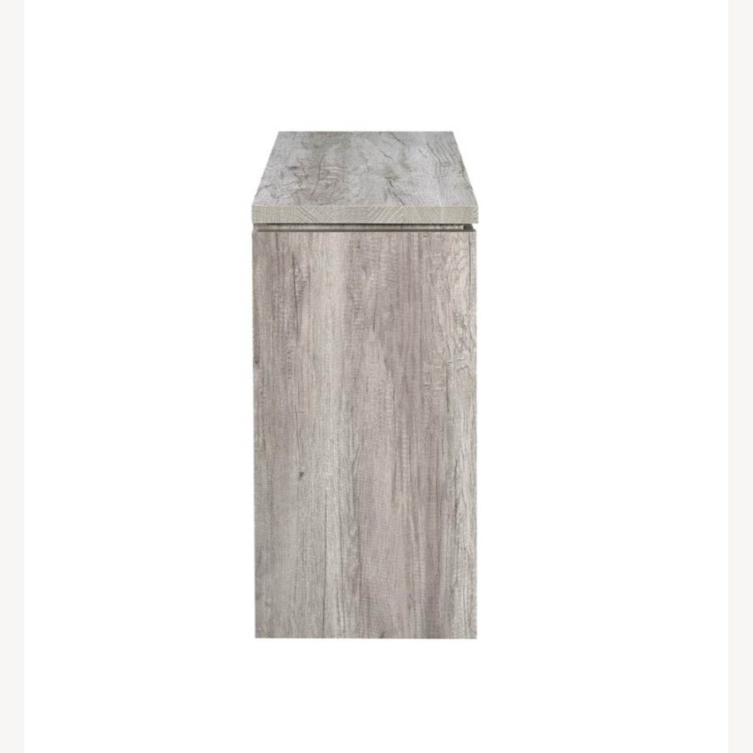 Accent Cabinet In Grey Driftwood Finish - image-4