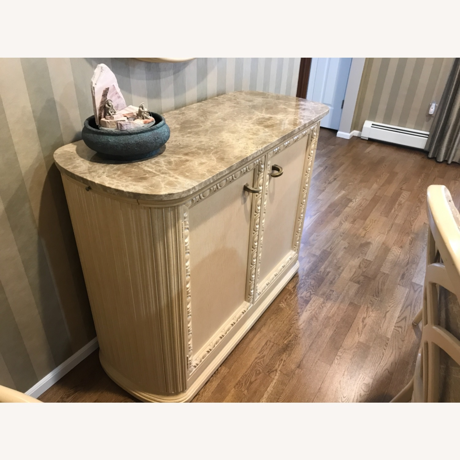 Century Furniture Bar with Marble Top - image-2