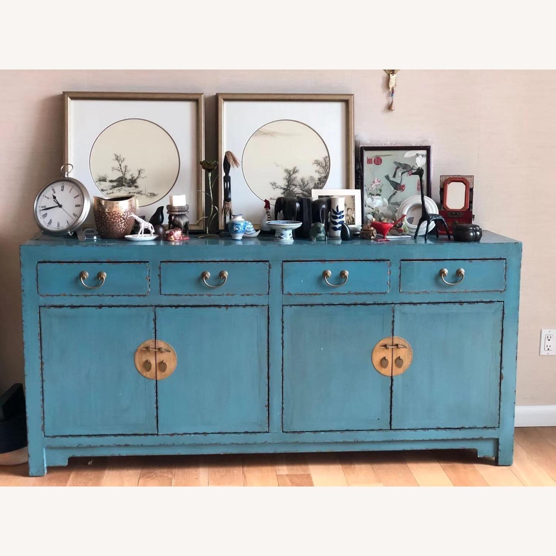 Oriental Antique Dresser Cabinet - image-4