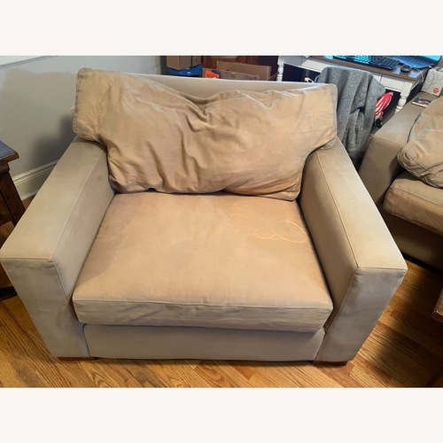 Used Crate & Barrel Oversized Chair for sale on AptDeco