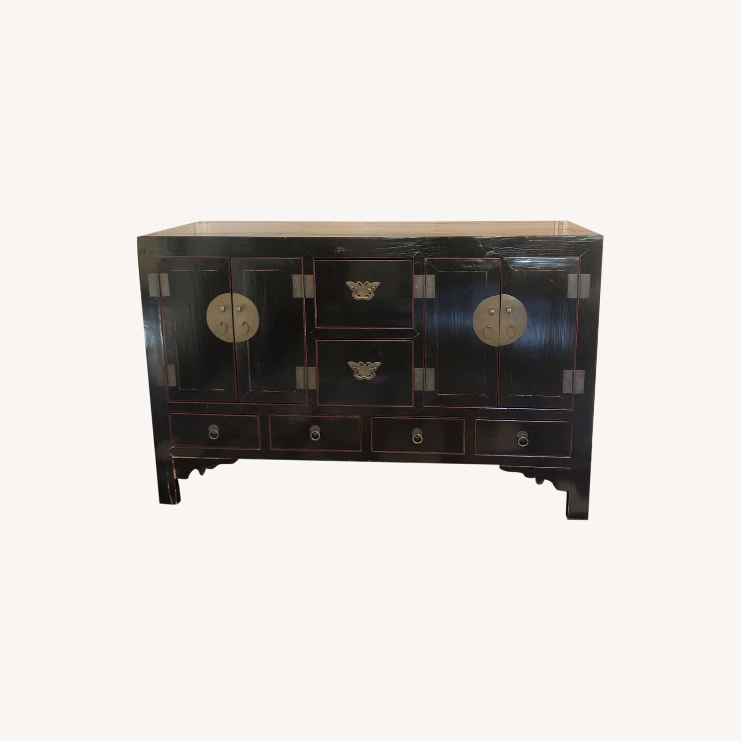ABC Carpet and Home Asian Lacquer Cabinet - image-0