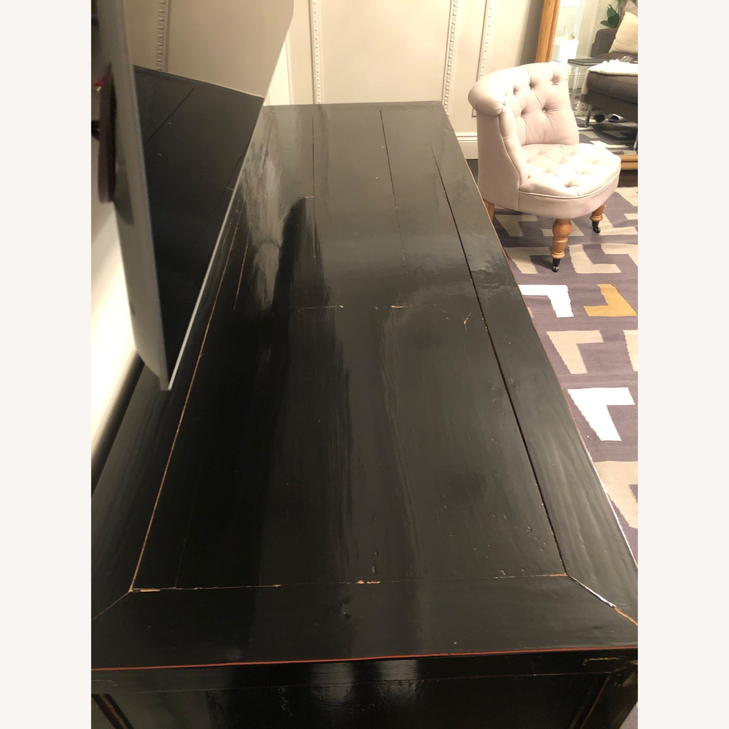ABC Carpet and Home Asian Lacquer Cabinet - image-3