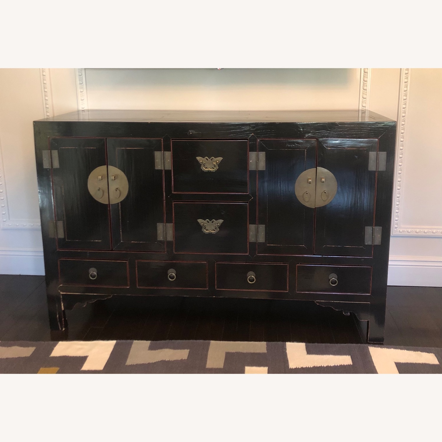ABC Carpet and Home Asian Lacquer Cabinet - image-1