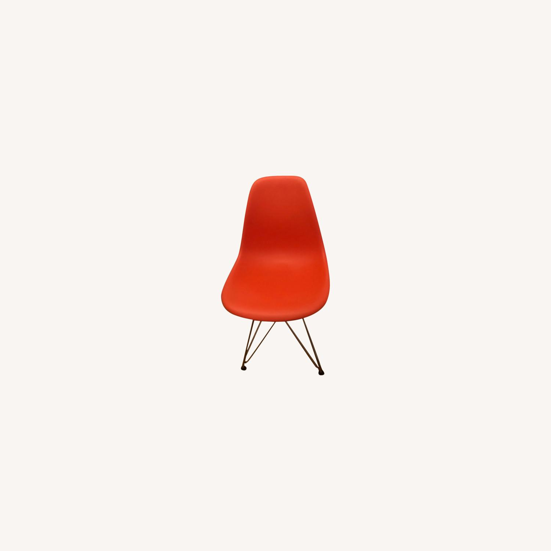 Eames Fiber Glass Molded Plastic Side Chair - image-0