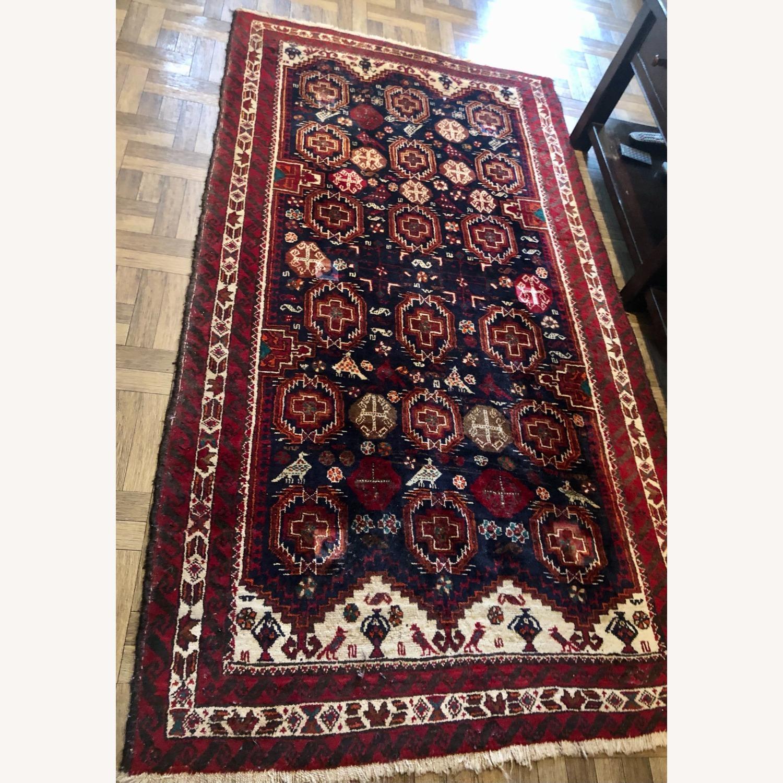 ABC Carpet and Home Handmade Vintage Wool Rug - image-3