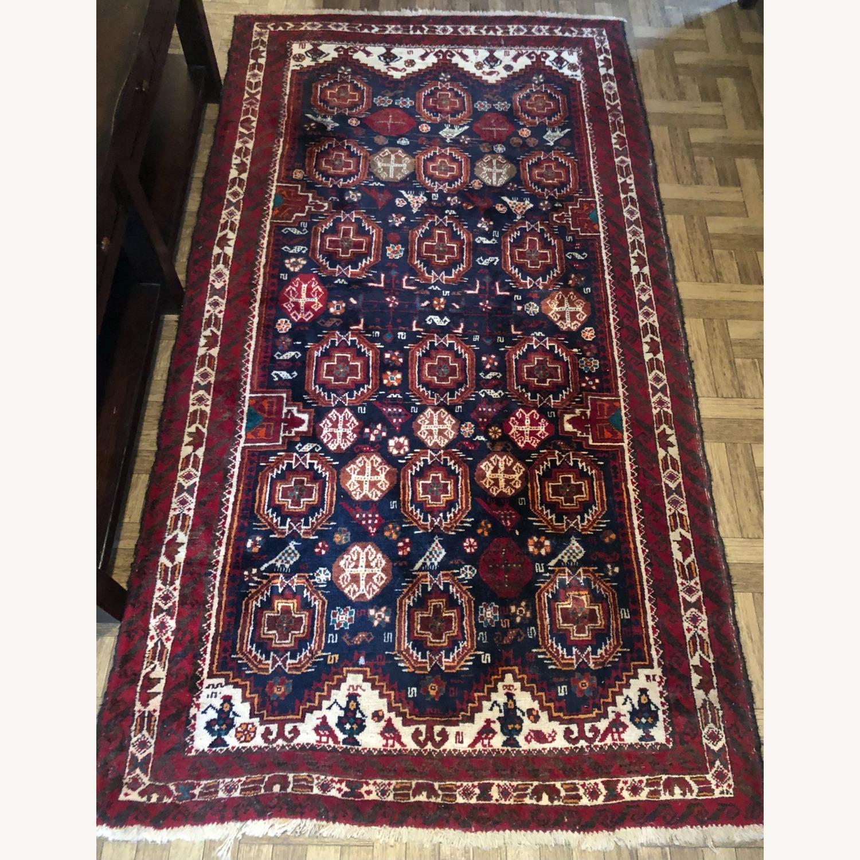 ABC Carpet and Home Handmade Vintage Wool Rug - image-1