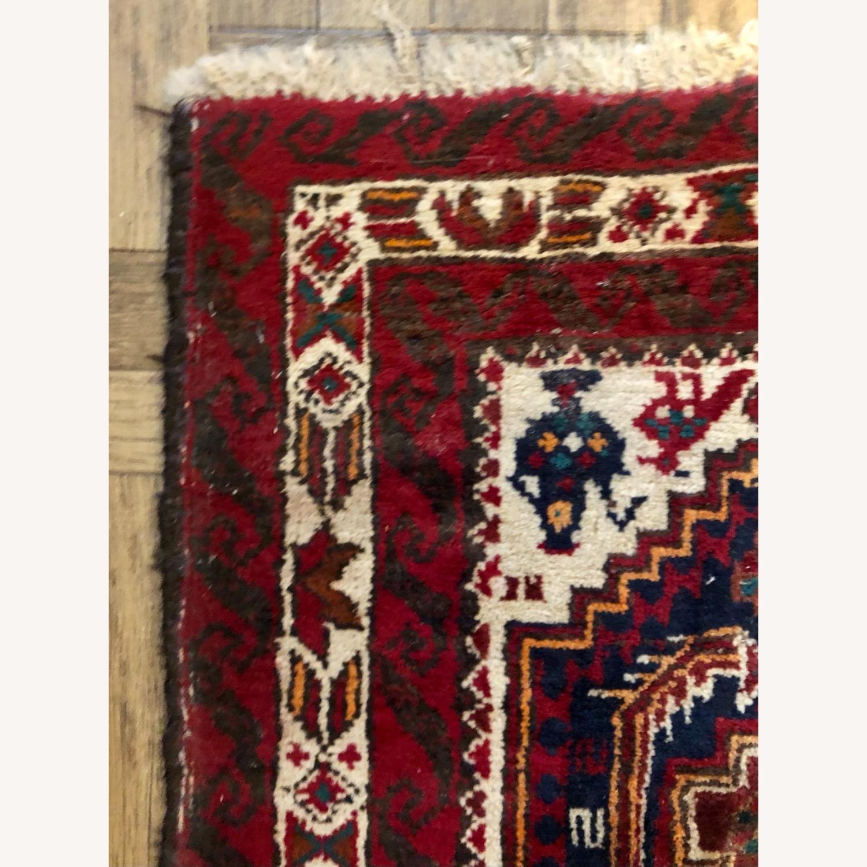 ABC Carpet and Home Handmade Vintage Wool Rug - image-5