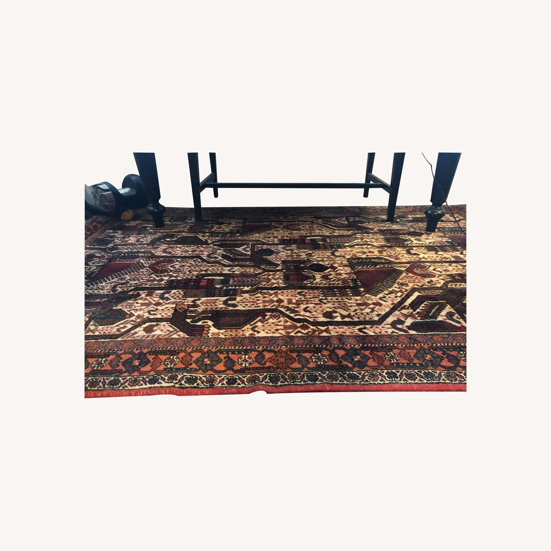 ABC Carpet and Home Handmade Vintage Wool Rug - image-0