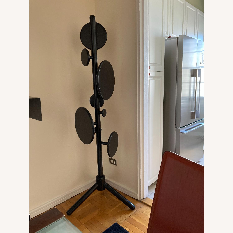 Designer Art Floor Coat Rack - image-1