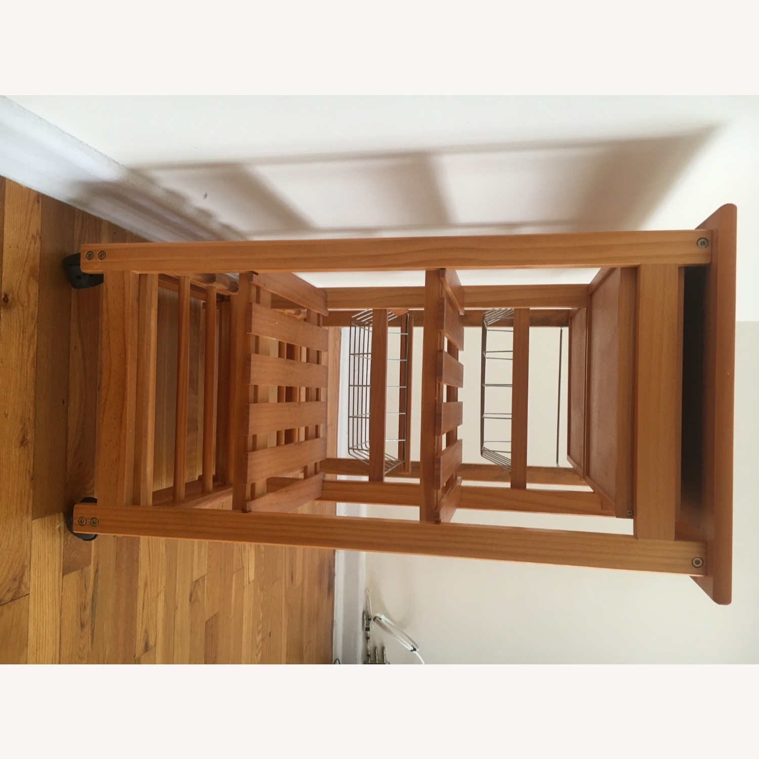 Kitchen Cart and Wine Rack - image-7