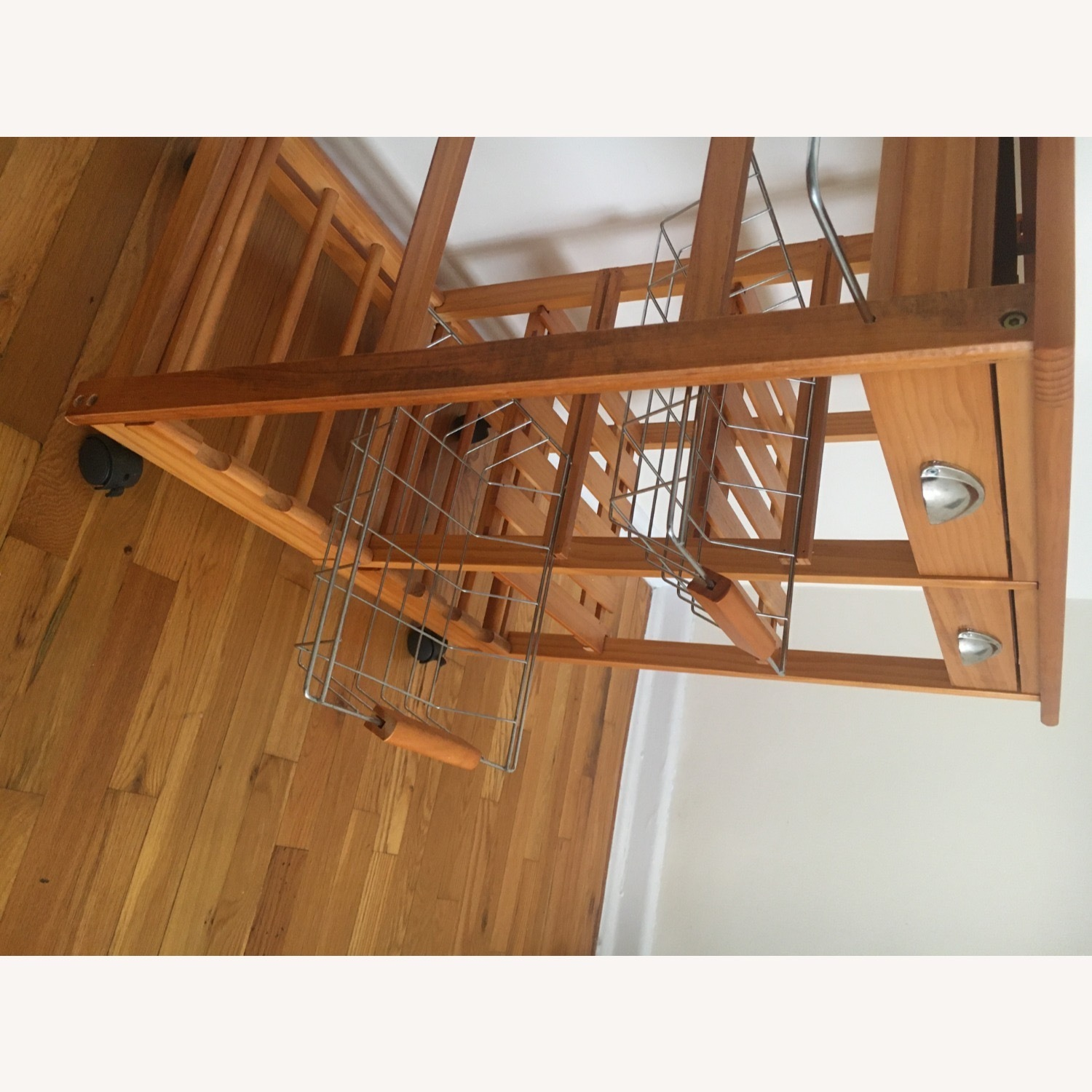Kitchen Cart and Wine Rack - image-10