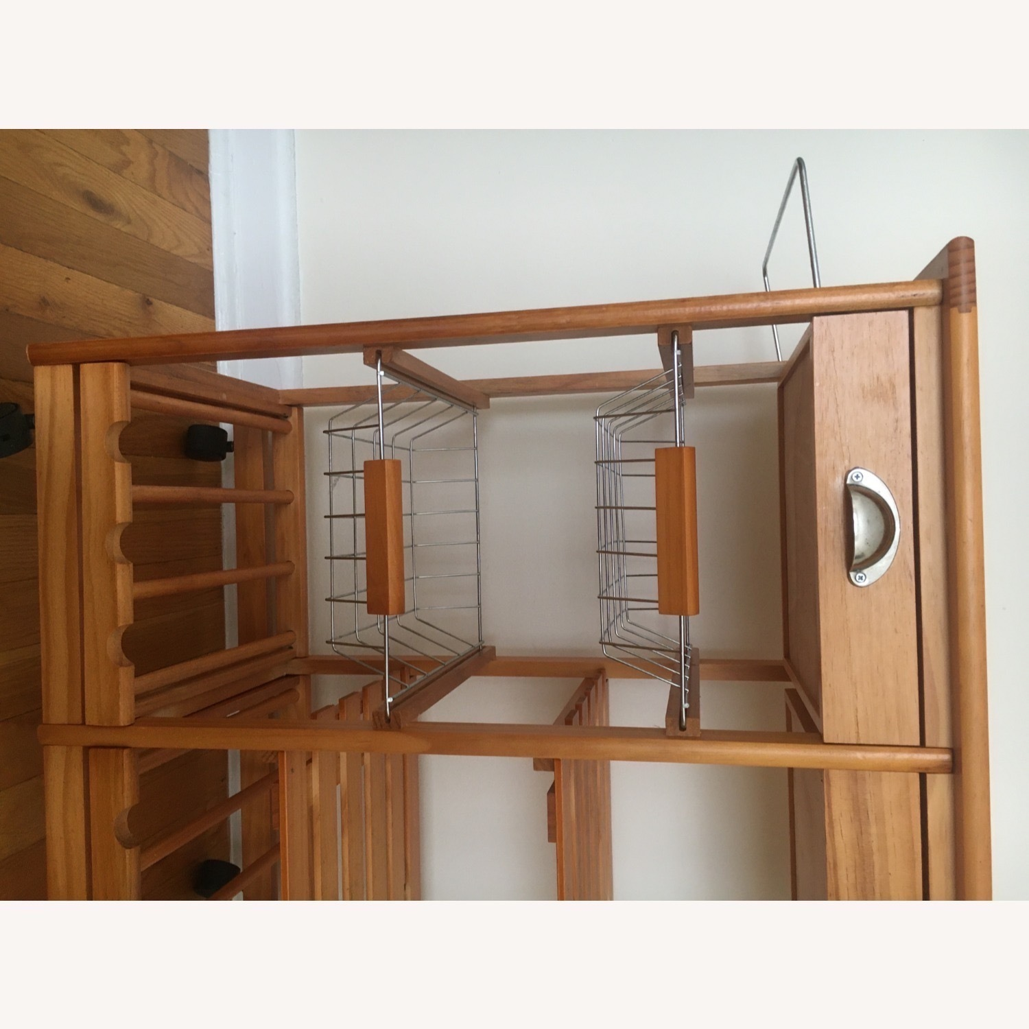 Kitchen Cart and Wine Rack - image-13