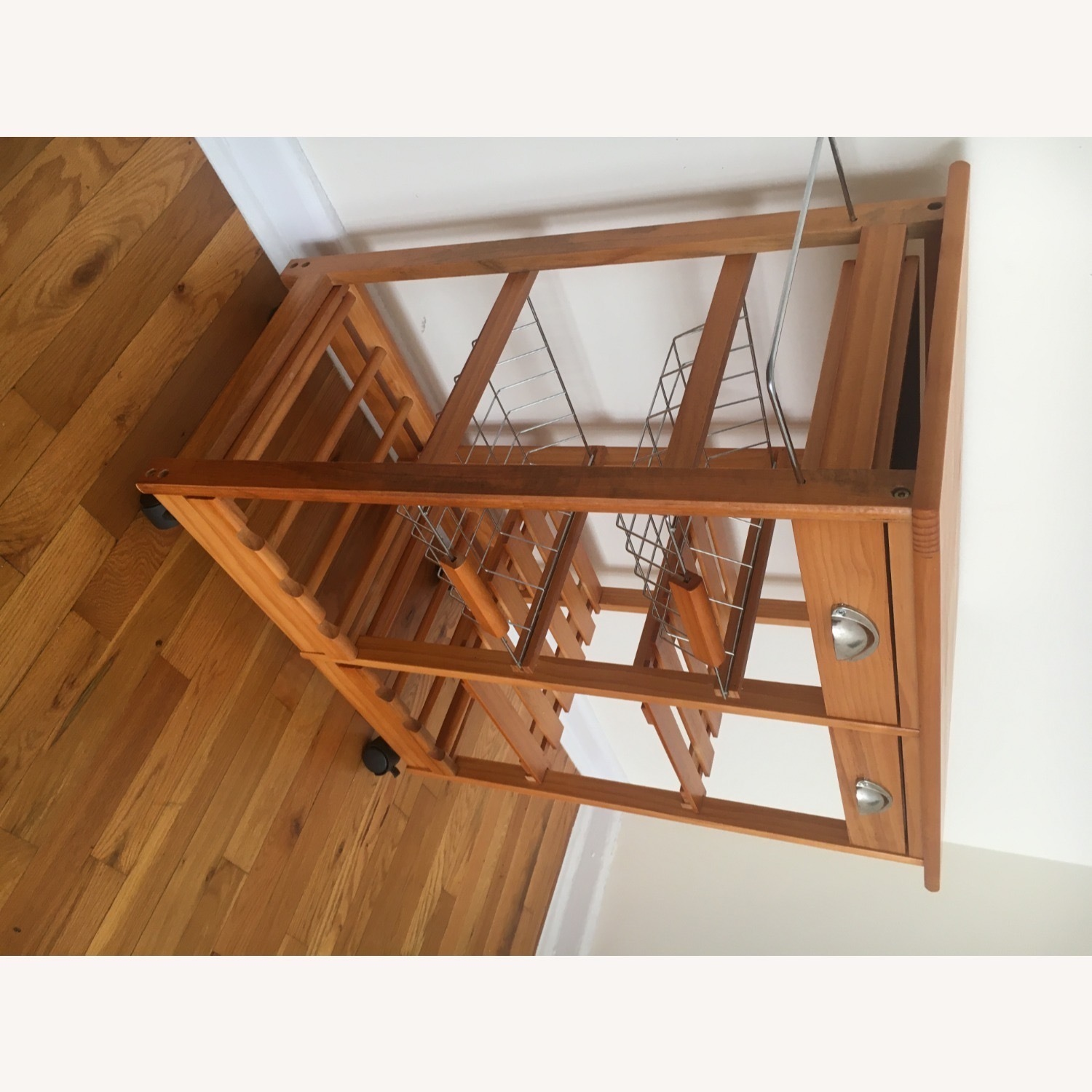 Kitchen Cart and Wine Rack - image-12