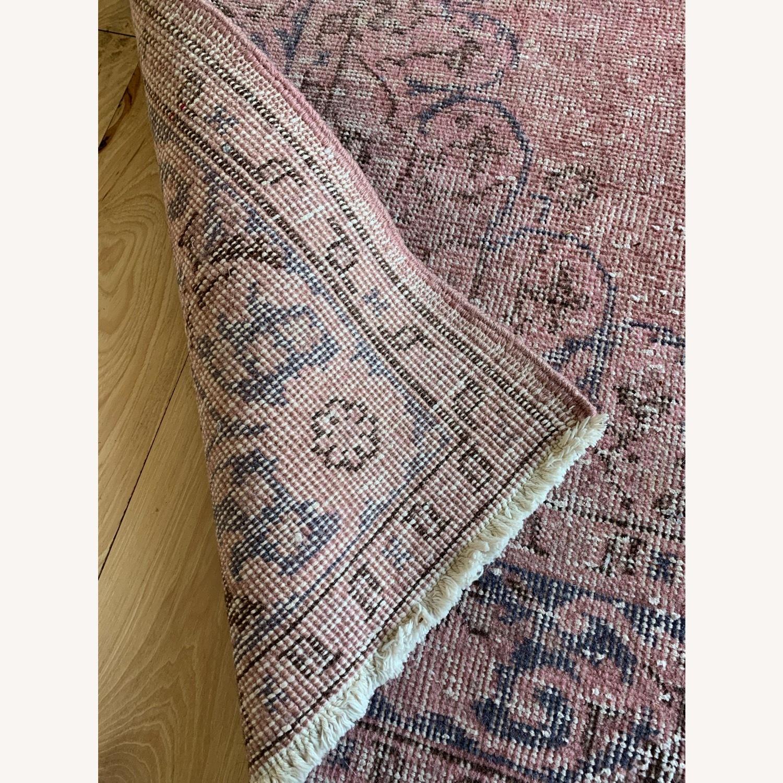 Pink Anatolian Antique Rug - image-2