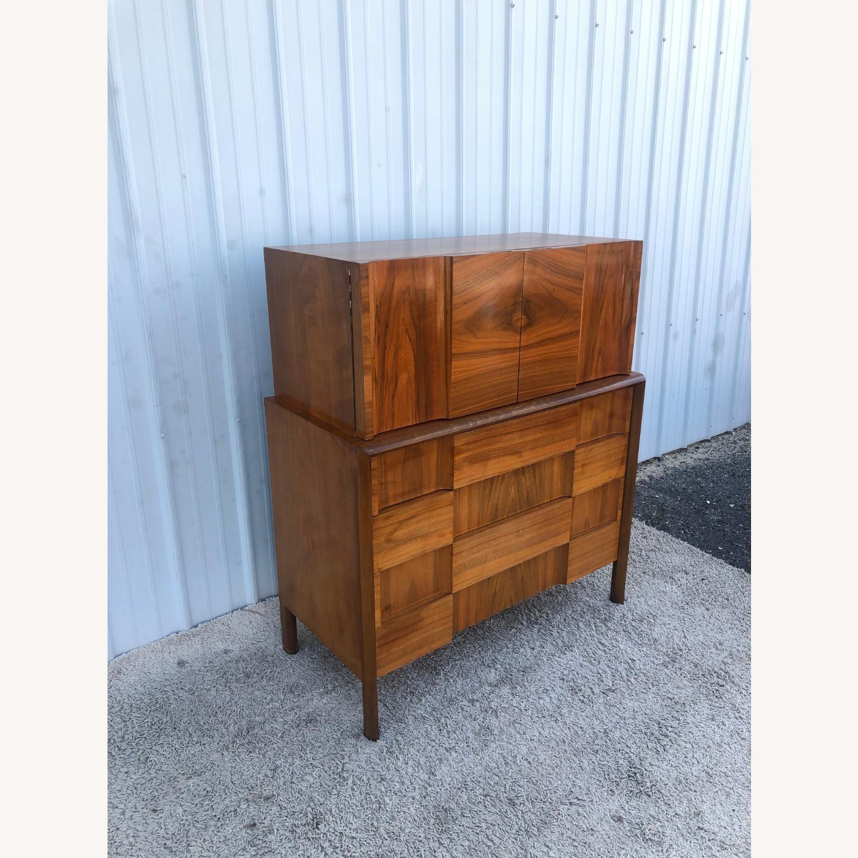 Mid Century Brutalist Style Highboy Dresser - image-5