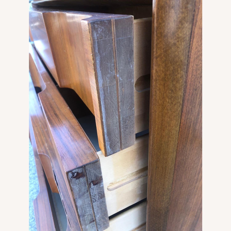 Mid Century Brutalist Style Highboy Dresser - image-11