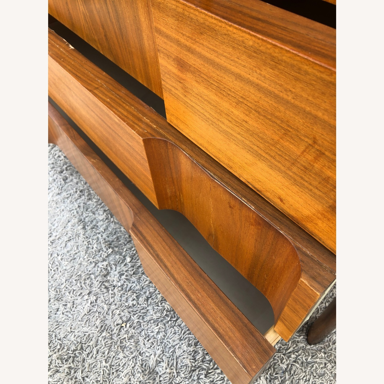 Mid Century Brutalist Style Highboy Dresser - image-12