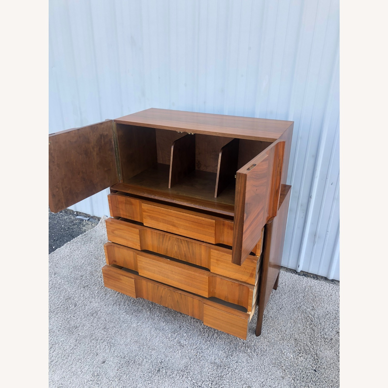 Mid Century Brutalist Style Highboy Dresser - image-10