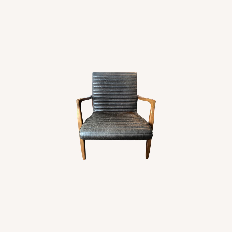 Room & Board Callan Leather Chair - image-0