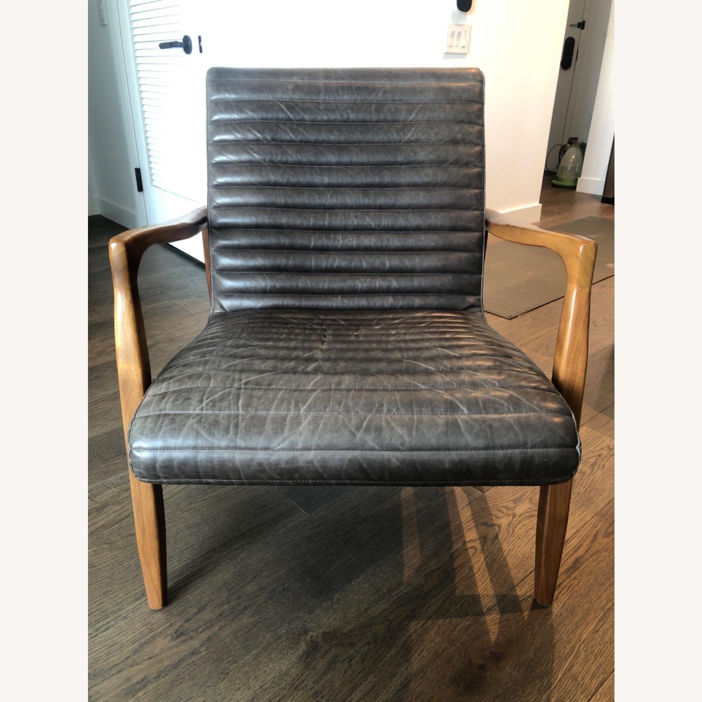 Room & Board Callan Leather Chair - image-4