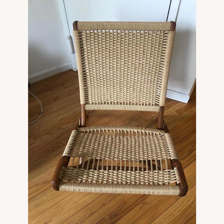 Vintage Wegner Style, Yugoslavian Folding Chair - image-2
