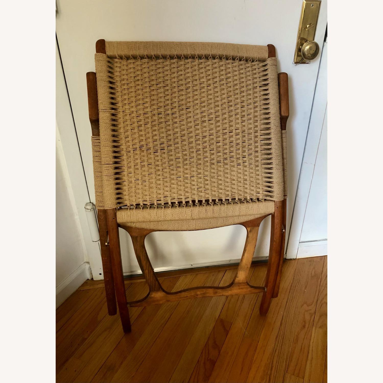 Vintage Wegner Style, Yugoslavian Folding Chair - image-4