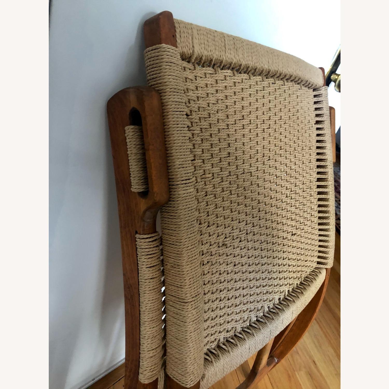 Vintage Wegner Style, Yugoslavian Folding Chair - image-3