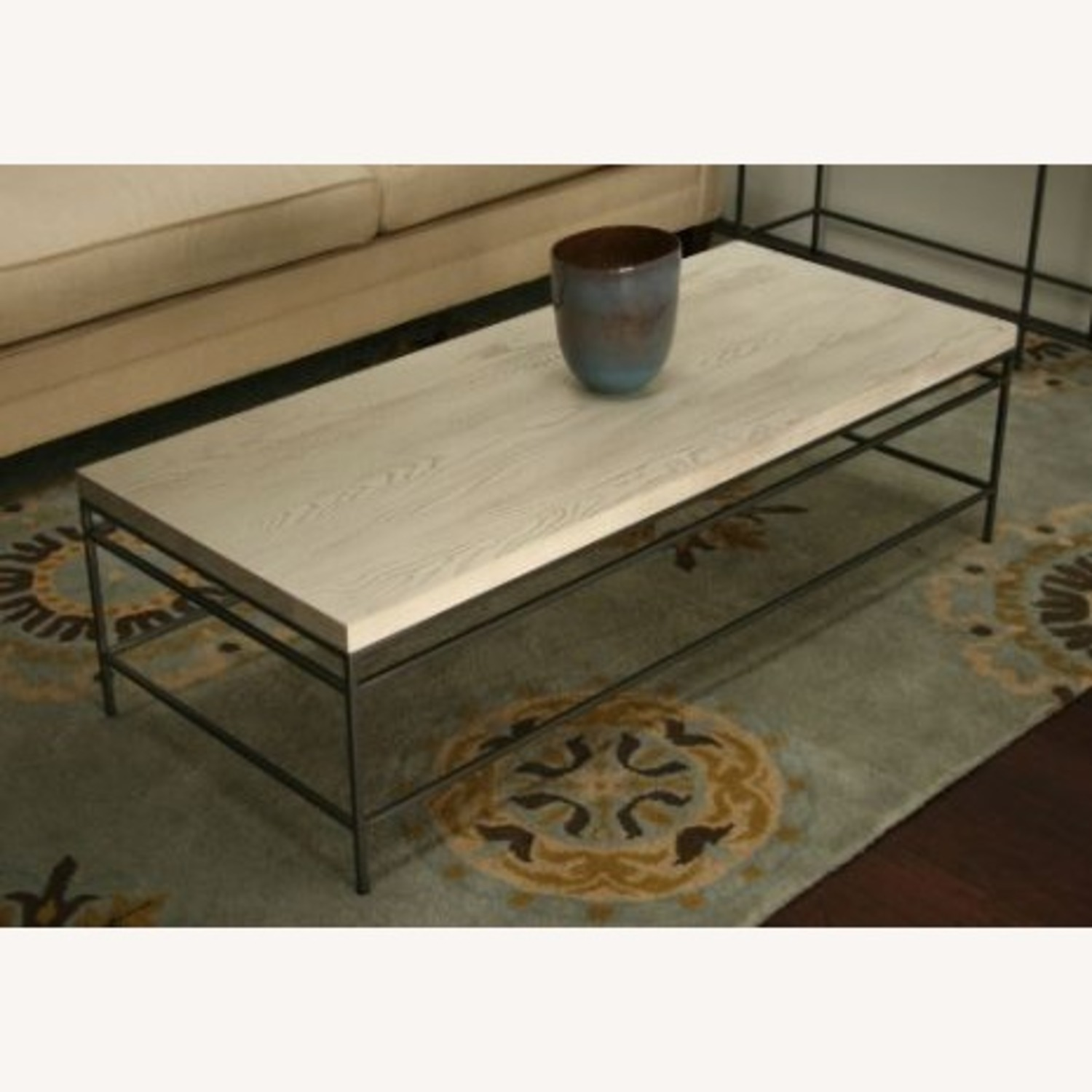 Mitchell Gold Decker 56 Cocktail Table - image-1