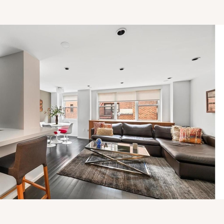 ABC Carpet & Home Ivory/Grey Wool Rug - image-4
