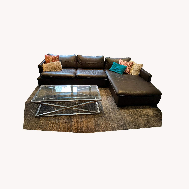 ABC Carpet & Home Ivory/Grey Wool Rug - image-5