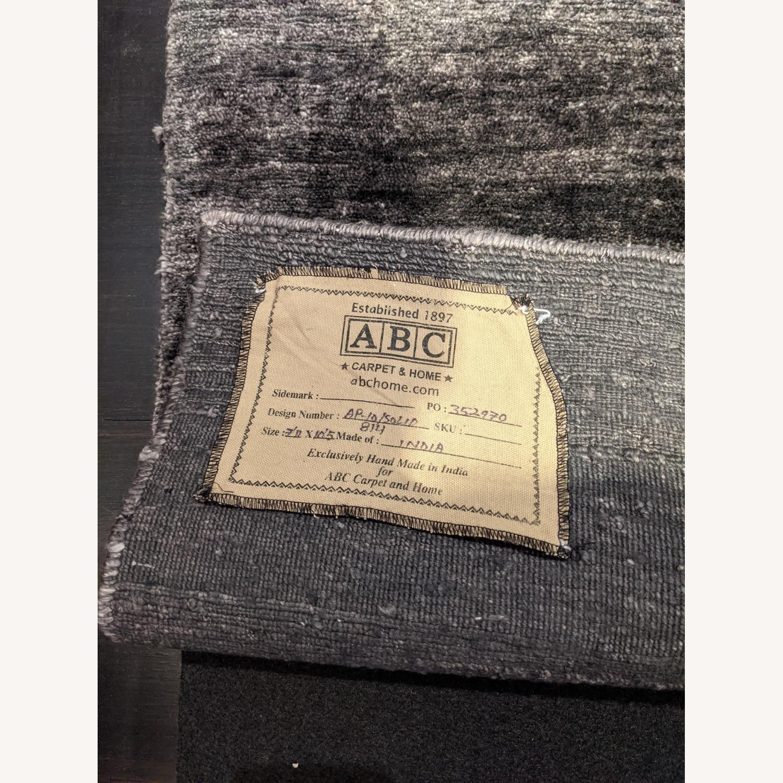 ABC Carpet & Home Ivory/Grey Wool Rug - image-8