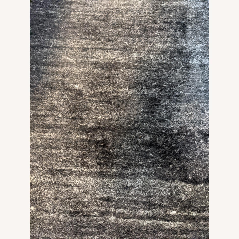 ABC Carpet & Home Ivory/Grey Wool Rug - image-6