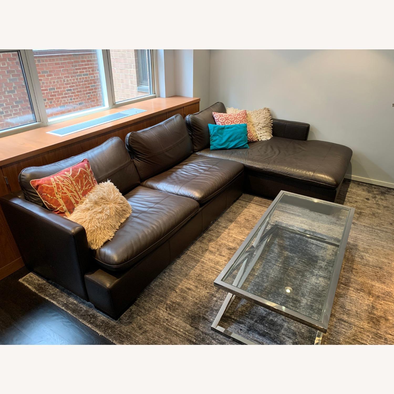 ABC Carpet & Home Ivory/Grey Wool Rug - image-1