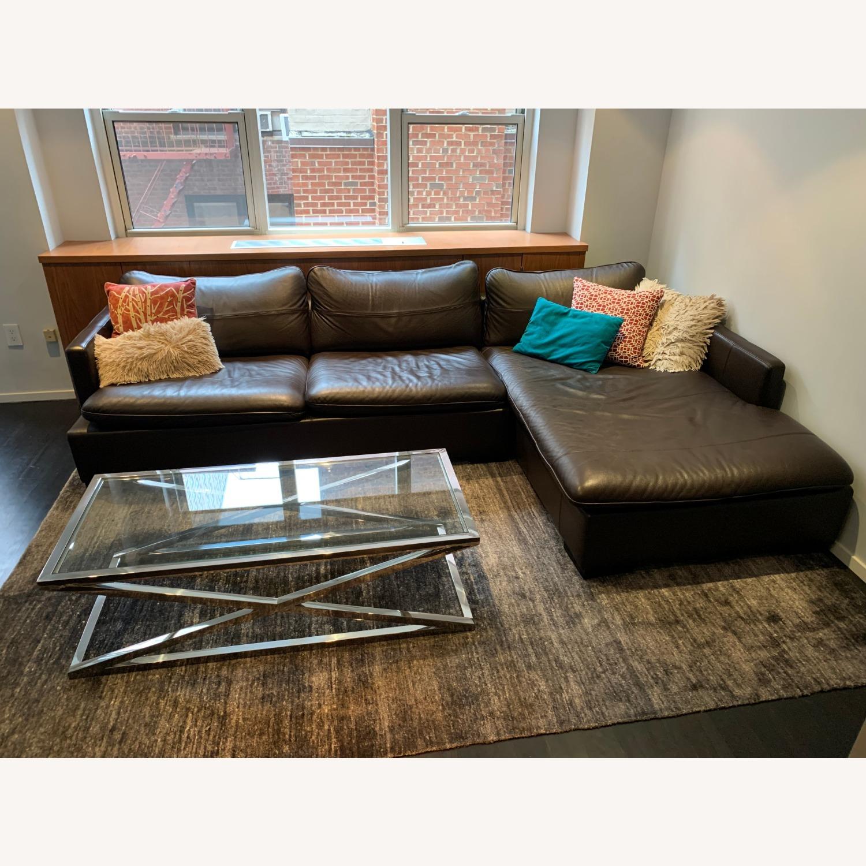 ABC Carpet & Home Ivory/Grey Wool Rug - image-3