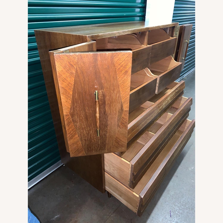 American of Martinsville Highboy Dresser - image-3