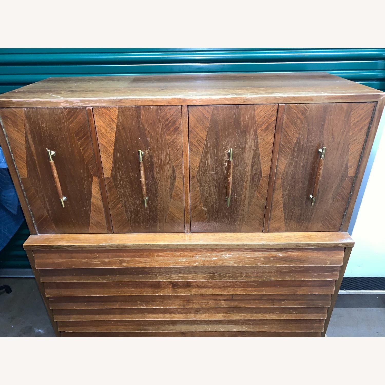 American of Martinsville Highboy Dresser - image-8