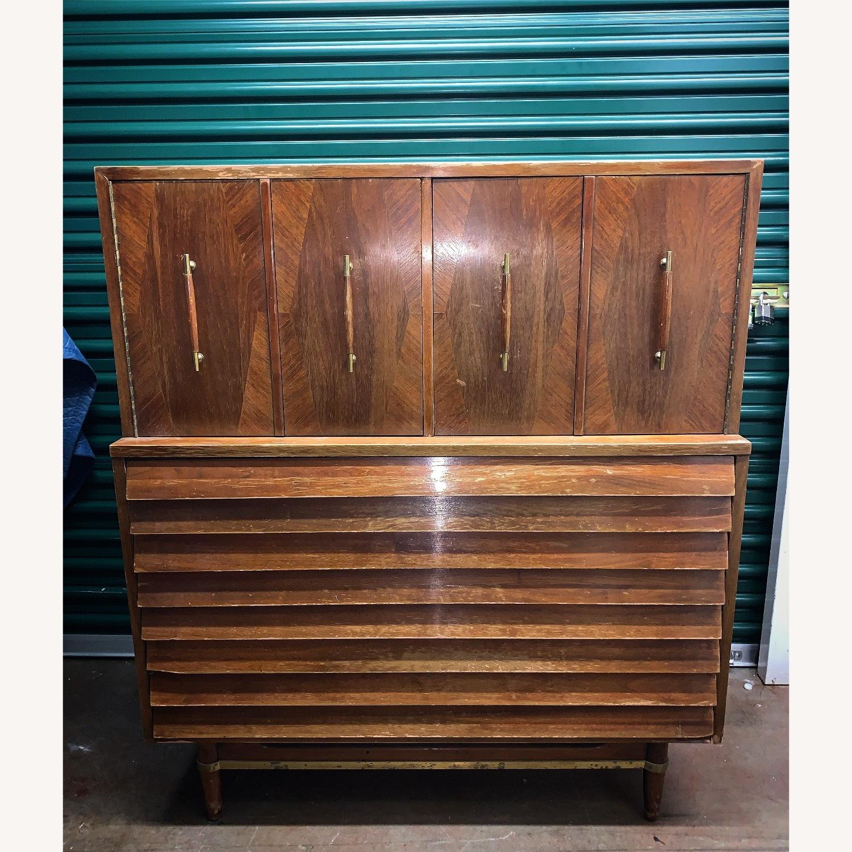 American of Martinsville Highboy Dresser - image-1