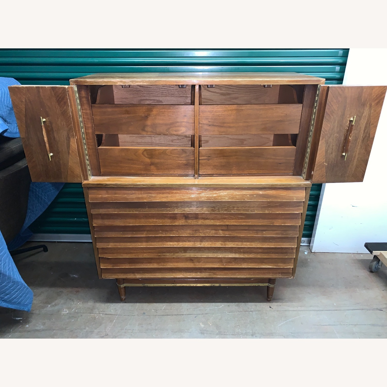 American of Martinsville Highboy Dresser - image-2