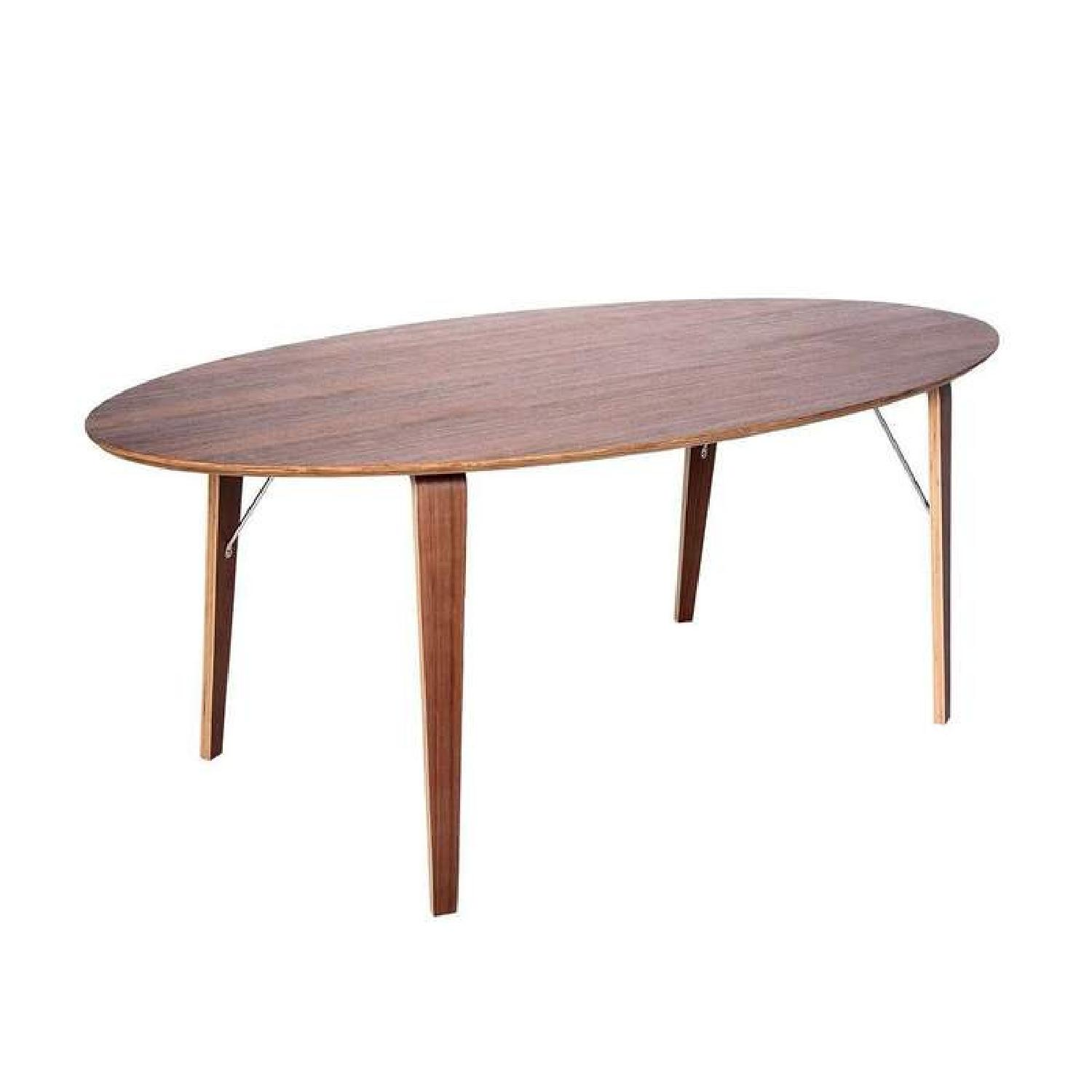 France and Son Mid Century Norman Dining Table - image-0