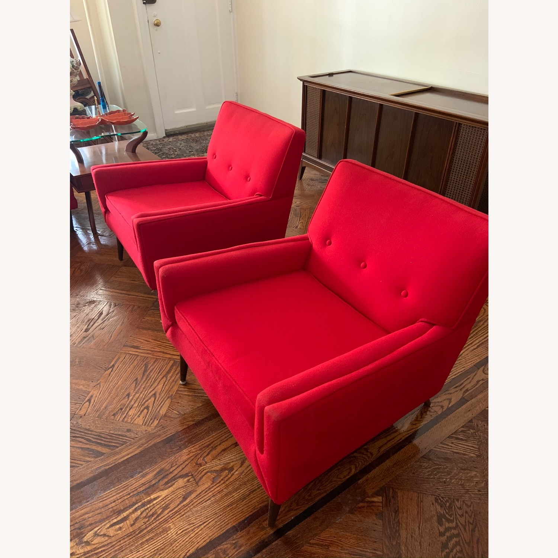 Kroehler Vintage Sectional Set in Bright Red - image-11