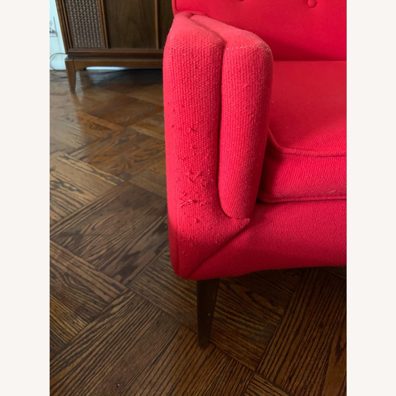 Kroehler Vintage Sectional Set in Bright Red - image-6